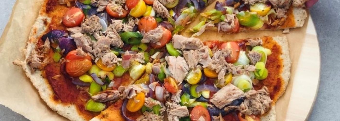 KPNI Foodie pizza multicolore