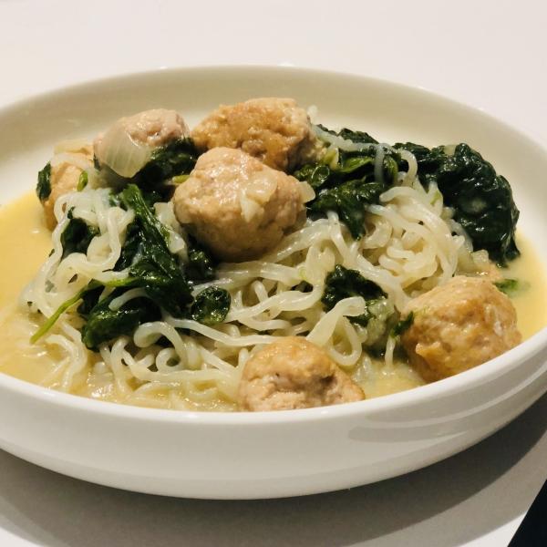 KPNI Foodies eenpansgerechtje met konjac spaghetti