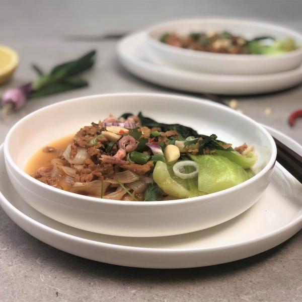 KPNI Foodie Aziatische konjac noedelsalade